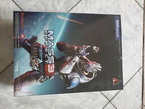 Mass Effect 3 Play Arts Kai Action Figure Garrus Vakarian NEW Sealed Bioware EA