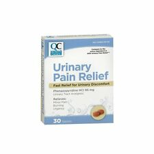 Quality Choice Urinary Pain Relief 30 Tablets (Compare to Azo)