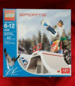 LEGO Snowboard Big Air Competition 3536 NEW FACTORY SEALED Ross Powers LEGO 3536