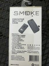 Rare Smoke Brand Genuine Leather Case for iPod Nano  New in Box