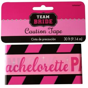 Hens Night Party Decorations Caution Tape Bachelorette Hanging Banner