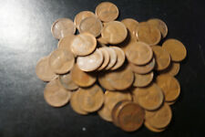 (50) WHEAT PENNIES! MIXED LOT OF LINCOLN WHEAT PENNIES!