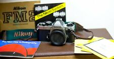 Nikon FM2 35mm Camera Body, Chrome  Excellent Film Tested