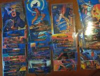 Marvel Masterpieces Gold Foil Signature Series 4, 1994 Fleer (35) Card Lot! RARE