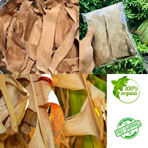 Dried Banana Leaves/leaf -Freshwater Shrimps,Bettas,Discus,Killis,Apistos etc.