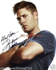 """Jensen Ackles from TV Show Supernatural 8x10"""" reprint signed photo #4 RP"""