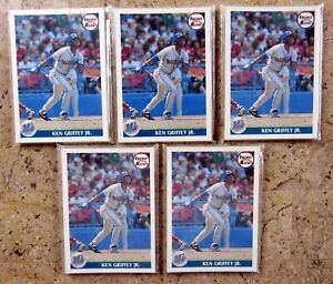 Ken Griffey Jr 1991 Front Row 10ct Card Set Limited Edition Lot Of 5 Sets
