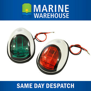 LED Navigation Lights - IP 68 Resistant  - White sealed Plastic Shroud 705686