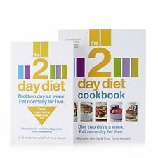 The 2 Day Diet Book & Cookbook by Dr Michelle Harvie & Prof Tony Howell