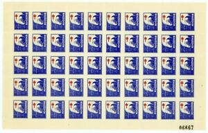 China 1930 TB Stamp Complete Sheet of 25 W963 ⭐⭐⭐⭐⭐
