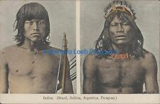 PARAGUAY INDIOS  (BRASIL, BOLIVIA, ARGENTINA Y PARAGUAY)