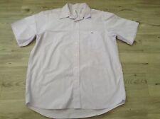 (W3) Lila Lacoste para Hombres Diseñador Camisa Tamaño Xl P/P 25INS