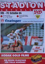 Programm 1994/95 VfB Stuttgart - Schalke 04
