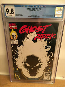 Ghost Rider #v2 #15 CGC 9.8 White Pages  Glow-in-the-dark
