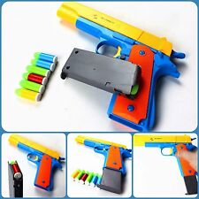 Nerf Gun Pistol Toy m1911 Kids Dart Guns With Soft Bullet Mauser Outdoor Play