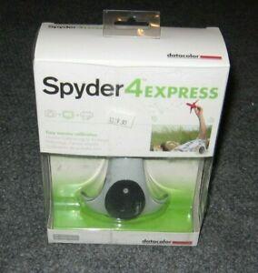 Spyder 4 Express ~ Easy Monitor Calibration Datacolor BRAND NEW Windows & Mac