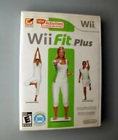 Wii Fit Plus (Wii, 2009) Tested & Works