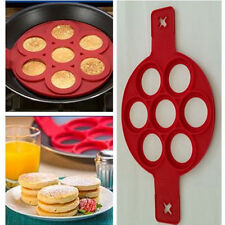 NonStick Pancake Pan Flipper Perfect Breakfast Maker Egg Omelette Flipjack Tool