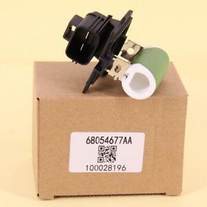 1Pcs New Engine Cooling Fan Resistor Right For 2008-2020 Chrysler Dodge