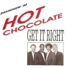 """7"""" Hot Chocolate Get It Right / The First Day Of Summer 80`s Bellaphon"""