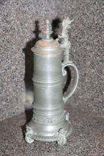 New listing Large old Pewter Beer stein circa 1900 by Lichtinger, Germany
