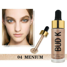 1Pc 3D Soild Face Eyes Brightening Liquid Shimmer Liquid Foundation Long Lasting