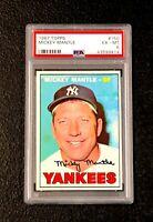 New York Yankees Mickey Mantle 1967 Topps #150 PSA 6 Ex-Mt