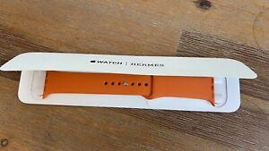 Genuine Original Apple Watch Hermes Orange Sport Band 42mm M/L New Unused