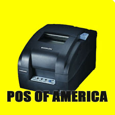 Bixolon SRP-275 POS IMPACT PRINTER SERIAL USB BLACK 5.1 LINES SECOND NEW