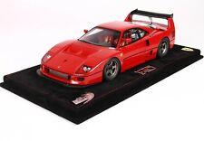 Ferrari F40 LM in Red Model Car in 1:18 Scale by BBR