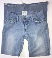 American Eagle AE Women's Hipster Stretch Boot Cut Flare Jeans Size 6 Distressed