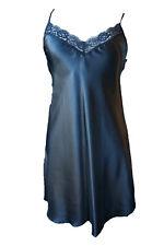 Ladies Satin chemise/ Nightie with Lace Sizes 10 - 22