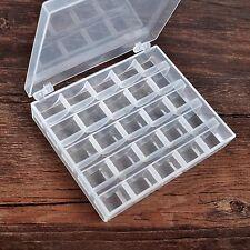 Boîte rangement  canette vide (sans bobines) en plastiques  machine à coudre
