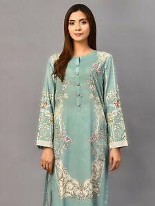 Pakistani Designer Limelight EMBROIDERED LAWN SHIRT Size S,M,L