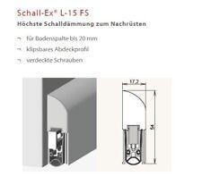 Athmer Schall-Ex Applic A silber 1055 mm Türdichtung zum Aufschrauben Nr 1-658
