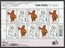Nederland 2016 3426-3427 vel Tom Poes 75 jaar - Olivier B. Bommel - comics
