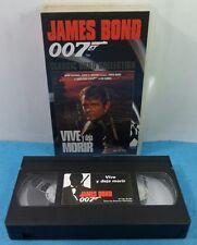 VHS CLASSIC JAMES BOND 007 COLLECTION VINTAGE - VIVE Y DEJA MORIR