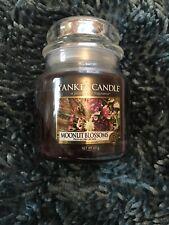 Yankee Candle MOONLIT BLOSSOMS MEDIUM   Jar New