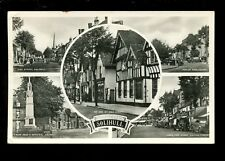 Warwicks Warwickshire SOLIHULL M/view early RP PPC c1950s