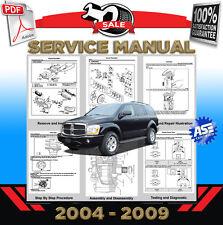 Dodge Durango 2004 2005 2006 2007 2008 2009 Service Repair Manual Workshop