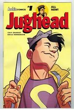 JUGHEAD VOL 2 #1 COLLECTION OF 6 DIFFERENT COVERS - ERICA HENDERSON ART - 2015