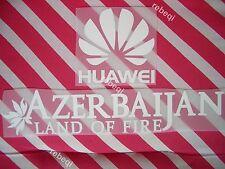 Parches HUAWEI + AZERBAIJAN para camiseta Atlético de Madrid (Desde Madrid)