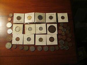 1/2 Pound Mixed World Coins - 1940's Forward