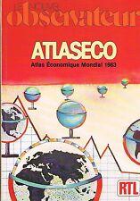 Le Nouvel Observateur   Atlaseco 1983 :