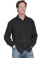 Scully Men's Casual Western Cotton Shirt CM5