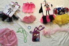 PRINCESS DRESS UP Mixed Pretend Costume Lot Girls Sz 12 Mos, 2t 3t Gowns Tutu