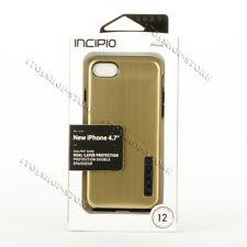 Incipio DualPro Shine Dual-Layer iPhone 7 / iPhone 8 Snap Case - Gold / Black