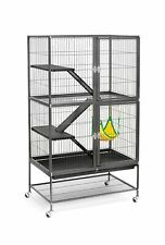 Prevue Hendryx Black Feisty Ferret Cage Black Hammertone Awesome Product