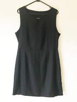 B Collection Black Pencil Sleeveless Dress Work Cocktail Dress Plus Size 16