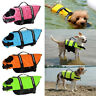 Reflective Stripe Pet Summer Safety Vest Life Jacket Swim Dog Puppy Outdoor